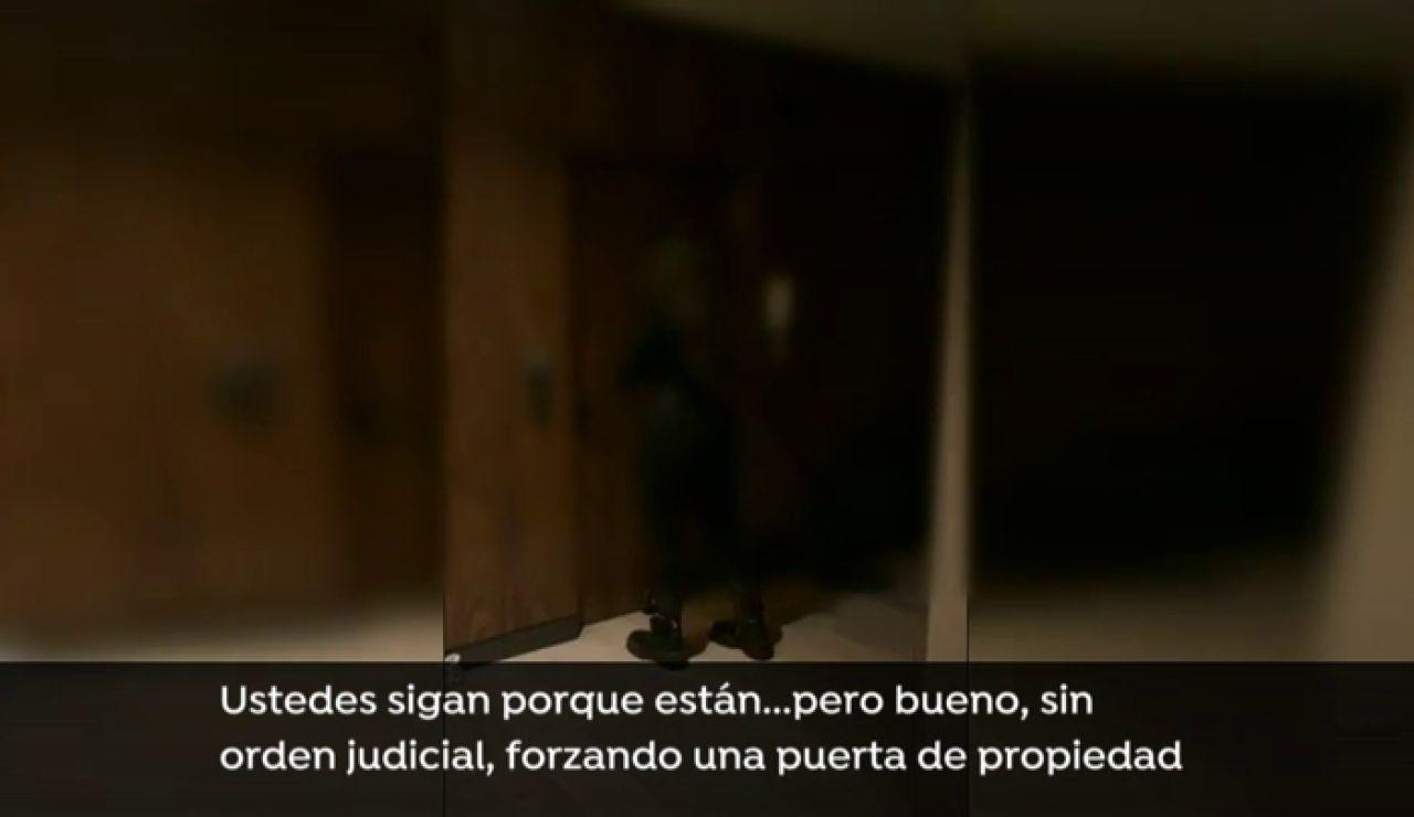 """Serafín Giraldo, inspector, sobre el allanamiento de la policía: """"La detención de los jóvenes está bien hecha"""""""