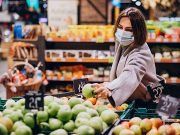 Muer en un supermercados
