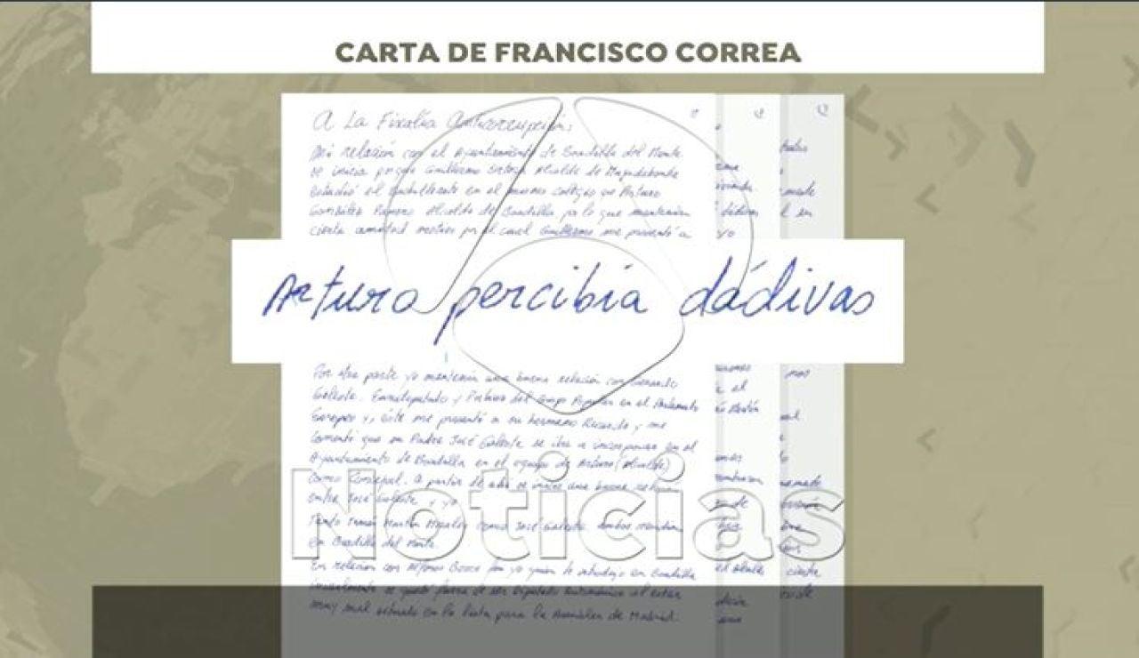 Carta Francisco Correa a Anticorrupción
