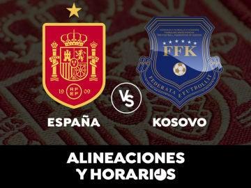España - Kosovo: Horario, alineaciones y dónde ver el partido de clasificación para el Mundial de Qatar 2022 en directo