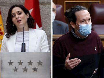 Ayuso e Iglesias ganan en intención de voto de cara a las elecciones de Madrid