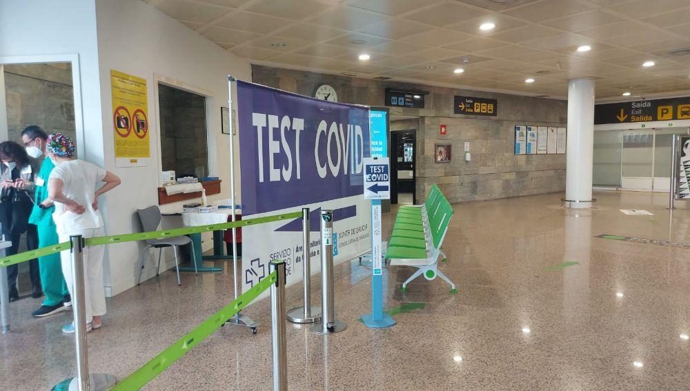 Test de antígenos en los aeropuertos gallegos aprobados por Aena