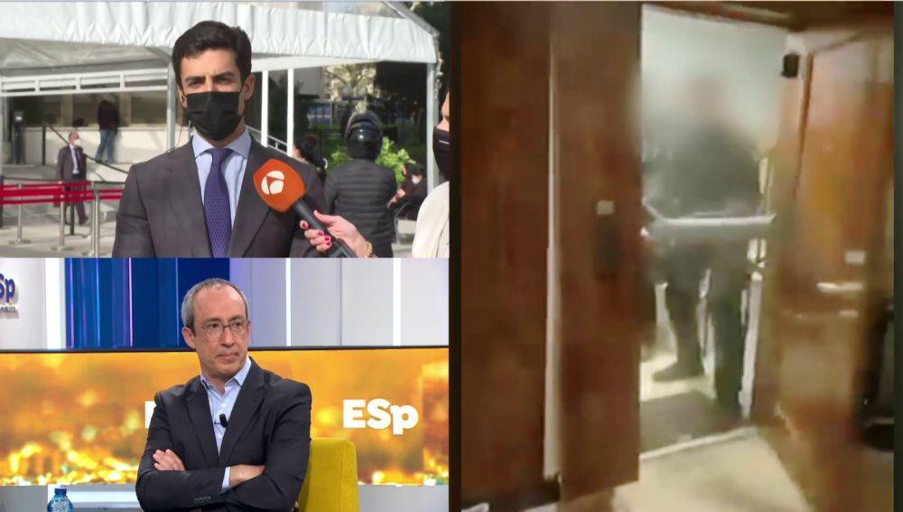 Juango Ospina, abogado de los jóvenes detenidos en la fiesta ilegal