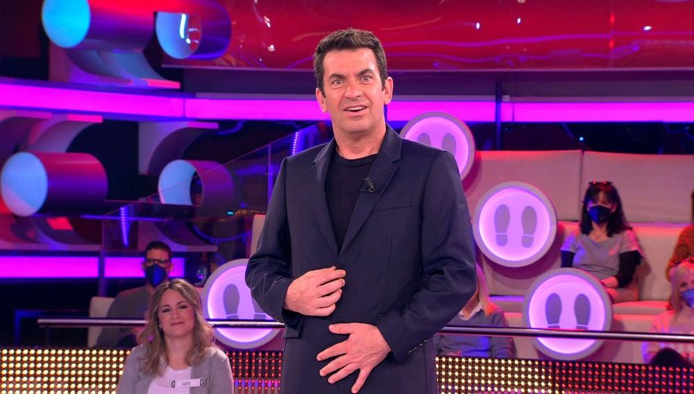 """Arturo Valls, a cuadros con una concursante en '¡Ahora Caigo!': """"Querrás el dinero para un psicólogo bueno"""""""
