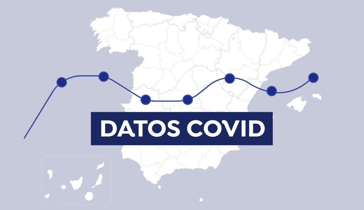 Mapa COVID-19: Datos de contagios, nuevos casos y fallecidos por coronavirus en España y el mundo hoy
