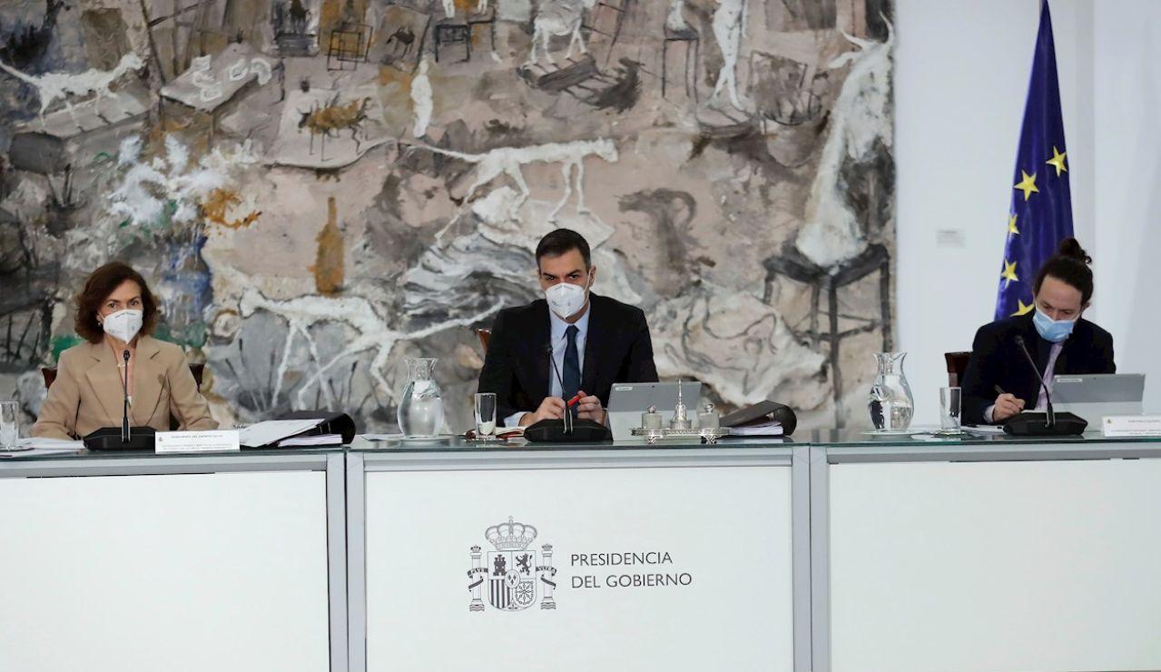 Iglesias asiste este martes a su última reunión del Consejo de Ministros