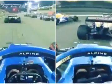 """La gran salida de Fernando Alonso en el GP de Baréin, vista desde su monoplaza: """"Esto me gusta mucho"""""""