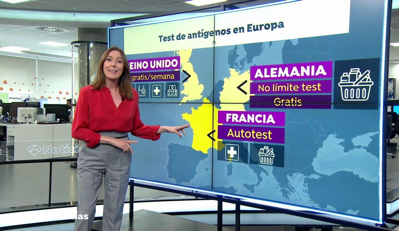 Test de antígenos gratis en casa o en las farmacias, así hacen pruebas de detección del coronavirus en Europa
