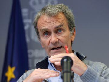 Fernando Simón se desmarca de las palabras de Pedro Sánchez y asegura que confía en los datos de Madrid