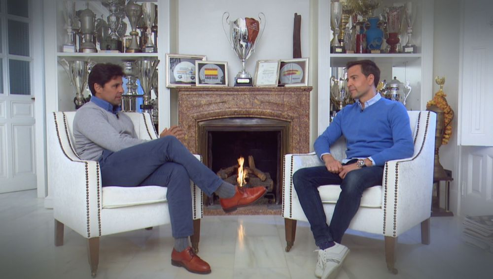 Fran Rivera entrevista a David Meca.