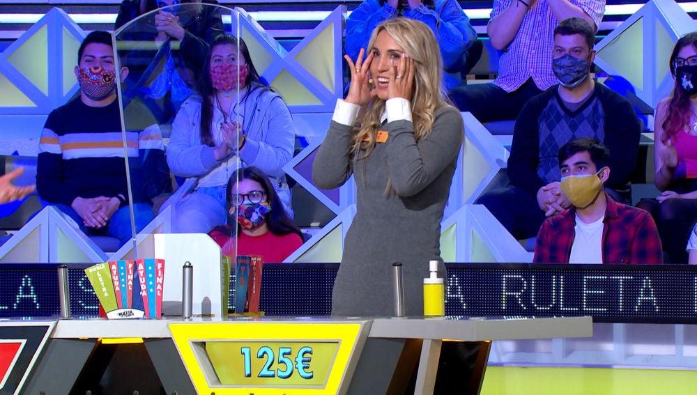 La aplaudida estrategia de una concursante en 'La ruleta de la suerte'