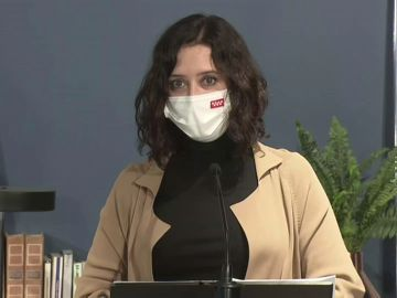 """Isabel Diaz Ayuso: """"Pedro Sánchez no ha dejado de mentir durante toda la pandemia y también ahora con las cifras de muertos y económicas"""""""
