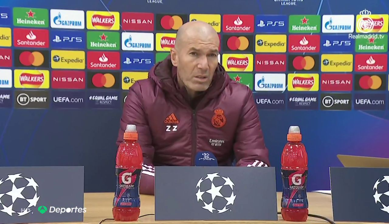 """Zidane avisa al Liverpool: """"No vamos a dosificar los esfuerzos, venimos aquí a ganar"""""""