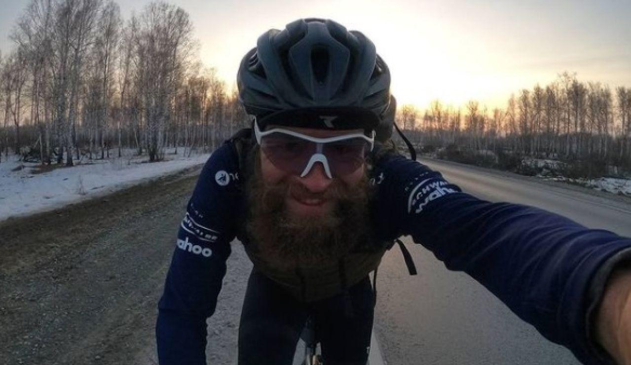 Jonas Deichmann y su particular triatlón de 10 meses alrededor del mundo