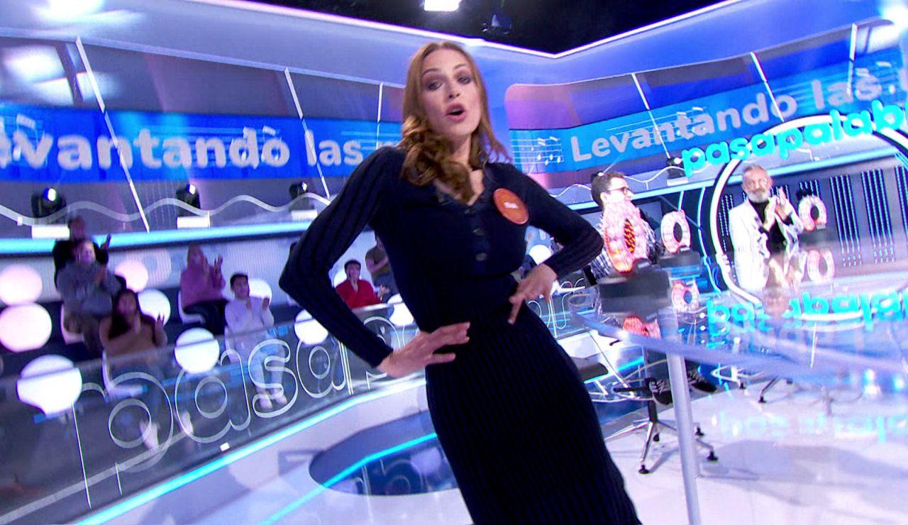 Renata Zanchi, Eva González y un movimiento sexy: así ha sido el duelo entre dos expertas musicales en 'La Pista'