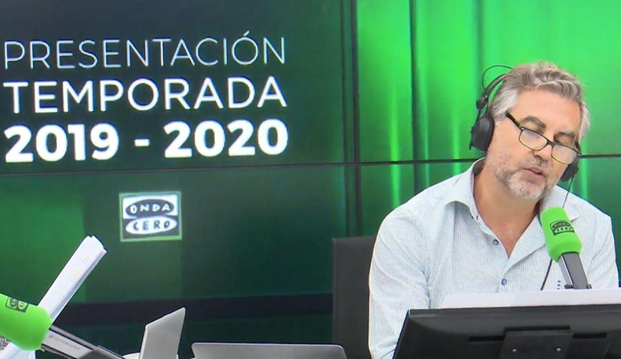 Carlos Alsina, en Onda Cero