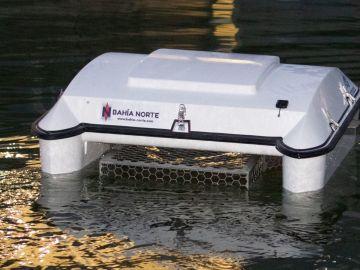 La aspiradora para la basura del mar 'made in Galicia'