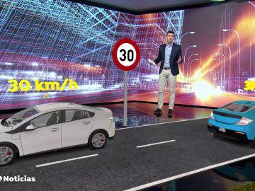 La DGT establece nuevos límites de velocidad para circular por las ciudades