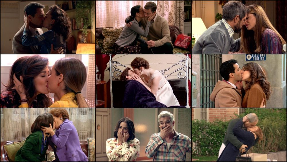 Celebramos El Día Internacional del Beso con los más memorables de 'Amar es para siempre'