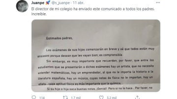 Tuit de @s_juanpe