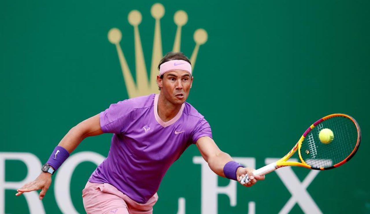 Rafa Nadal arrasa a Delbonis y deja claro que va a por su duodécimo trofeo en Montecarlo