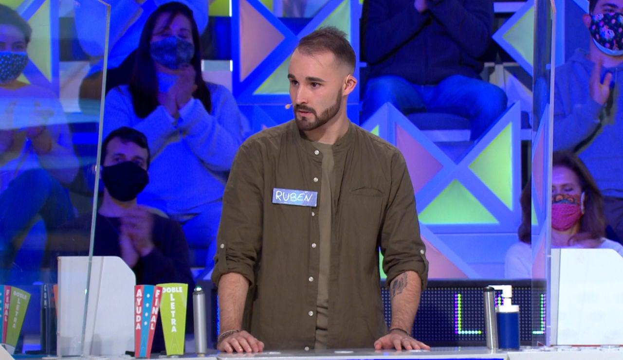 El aplaudido mensaje de Rubén a los 'haters' en 'La ruleta de la suerte'