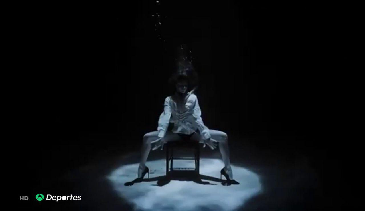 El increíble reto de la apneista Ariadna Hafez: graba un tango bajo el agua