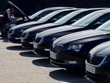 Flota de vehículos con licencia VTC