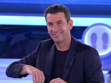 Arturo Valls le revela a Borja de dónde viene la luz de anchoa en '¡Ahora caigo!'
