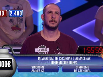 ¡Impecable! Fernando, de 'Los rudos', hace un pleno espectacular en la fase clasificatoria de '¡Boom!'
