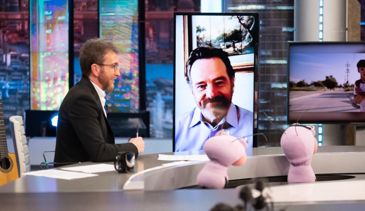 Trancas y Barrancas ponen a prueba el ojo clínico de Bryan Cranston: ¡Ha adivinado su 'alter egos'!