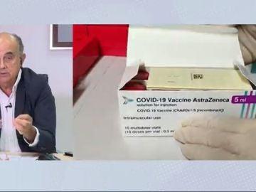 """Antonio Zapatero: """"La segunda dosis de la vacuna de AstraZeneca es muy segura"""""""