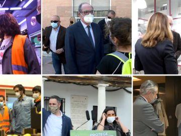 Los candidatos ultiman la campaña en Madrid