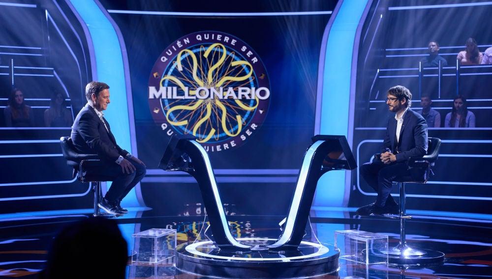 Ponte a prueba con las mismas preguntas que Marta Hazas, Carlos Latre y Lorenzo Silva en '¿Quién quiere ser millonario?'