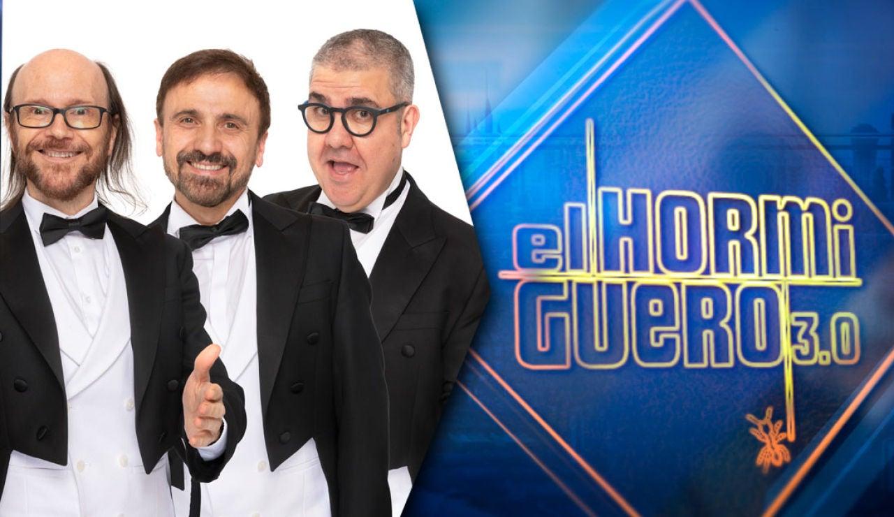 José Mota, Santiago Segura y Florentino Fernández
