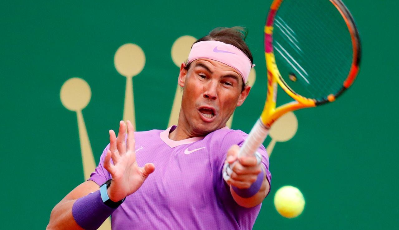 Rafa Nadal arrolla a Dimitrov y ya está en cuartos de Montecarlo