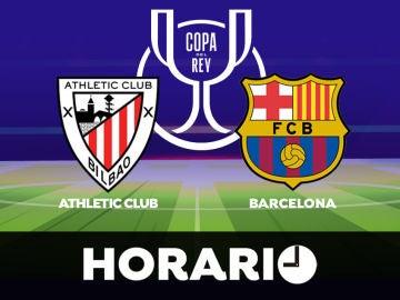 Athletic Club - Barcelona: Horario, alineaciones y dónde ver la final de la Copa del Rey en directo