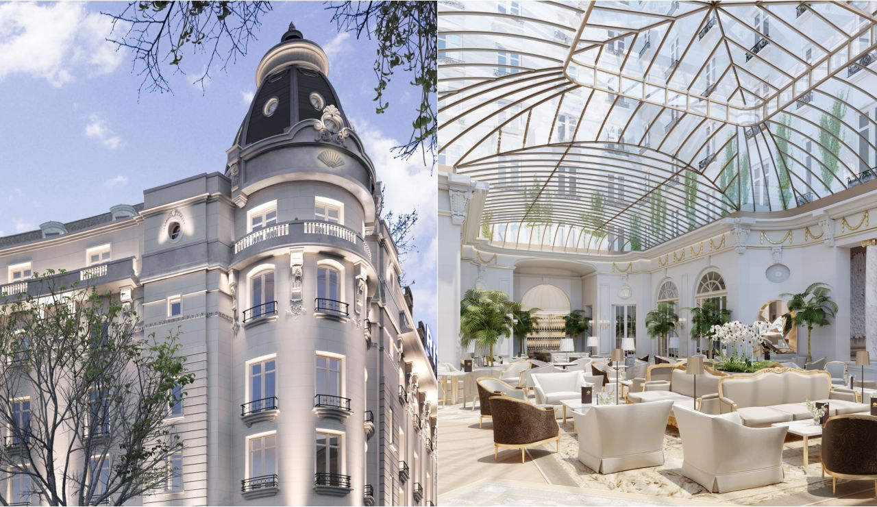 El histórico hotel Ritz de Madrid reabre hoy sus puertas tras una reforma de tres años