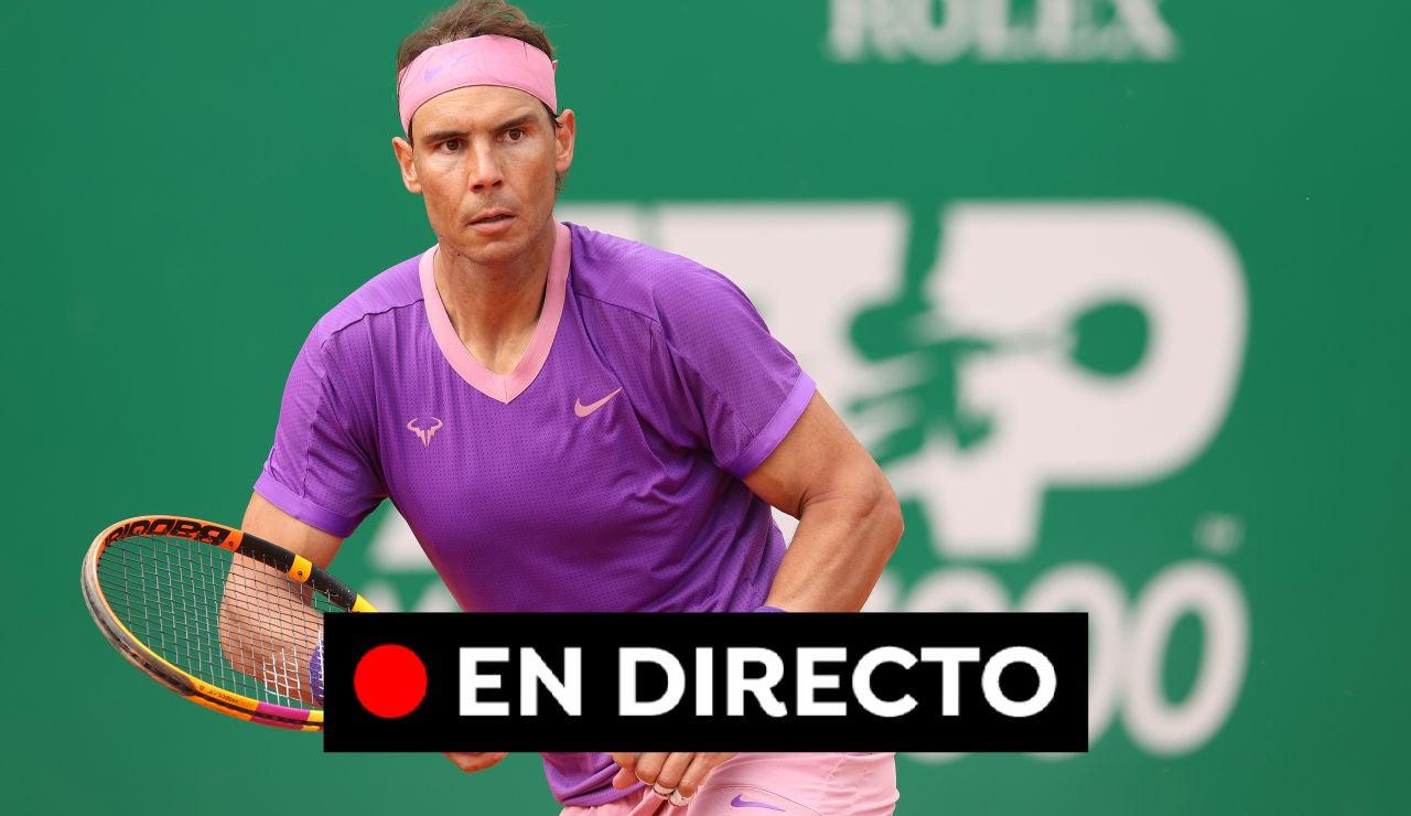 Rafa Nadal - Grigor Dimitrov: Partido del Masters 1.000 de Montecarlo hoy, en directo