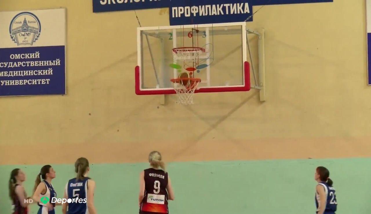 """Baloncesto con dos aros en cada canasta, la nueva modalidad rusa: """"Quería inventar un deporte"""""""