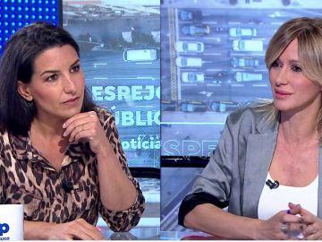 Rocío Monasterio y Susanna Griso.