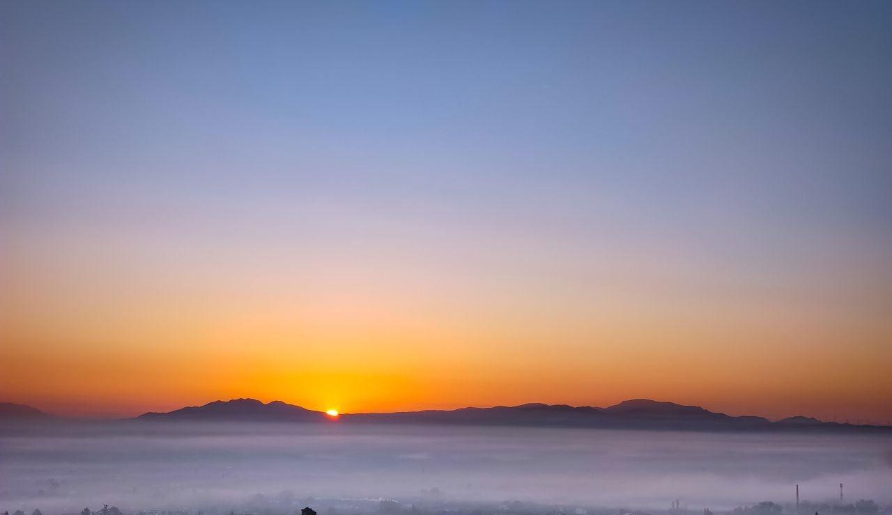 El sol en Granada