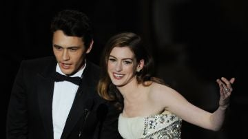 James Franco y Anne Hathaway en los Oscar