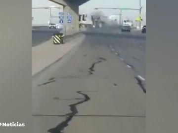 Un fallecido por el choque de una camioneta contra un tráiler en Estados Unidos