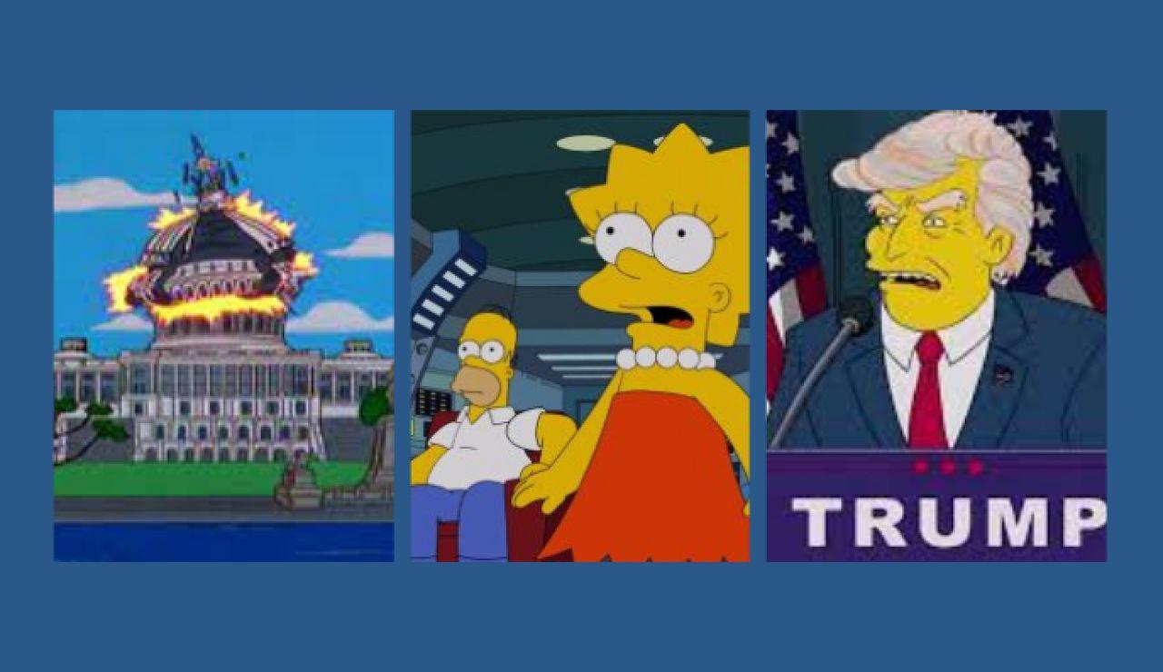 Las predicciones de los Simpson que se han cumplido en sus 31 años