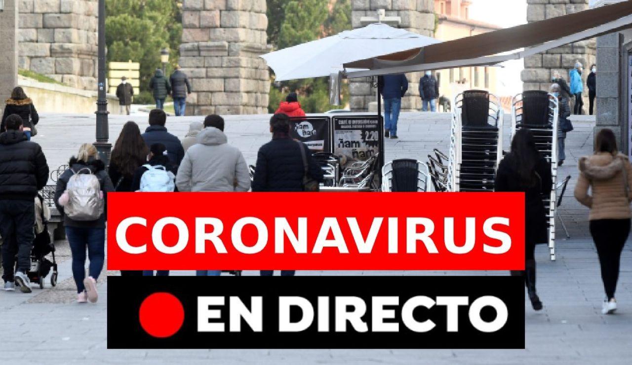 Restricciones coronavirus: Datos, vacunas contra el covid-19 y última hora, en directo