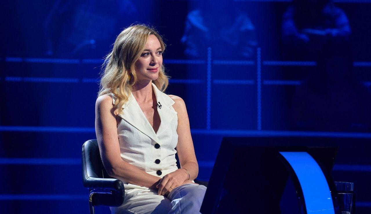 Marta Hazas cae en la tentación de saltarse una norma para llegar hasta los 30.000€ en '¿Quién quiere ser millonario?'