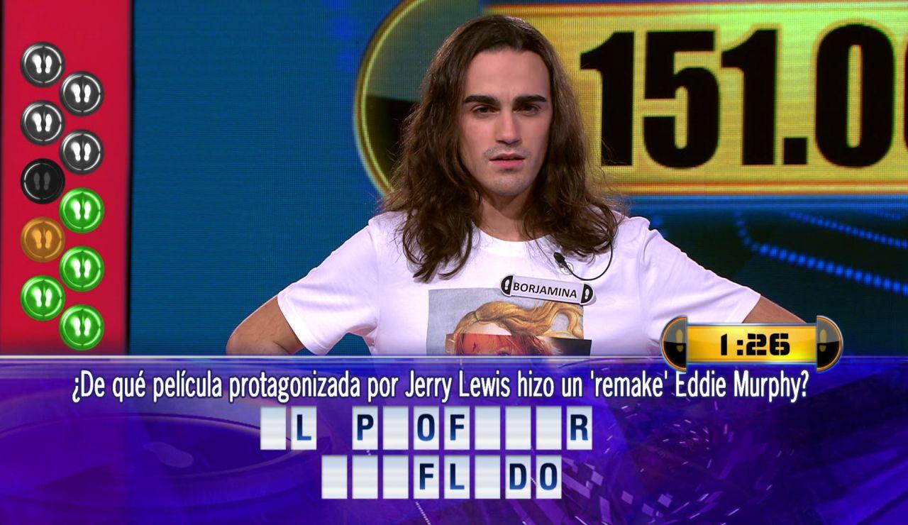 Borja, imbatible una vez más, juega por 151.002 euros el Duelo Final de '¡Ahora caigo!'