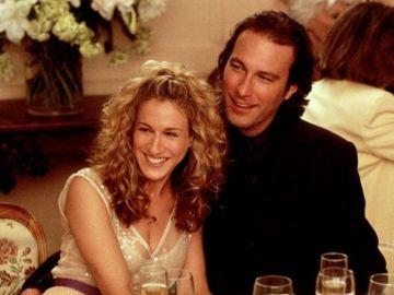 John Corbett y Sarah Jessica Parker en 'Sexo en Nueva York'