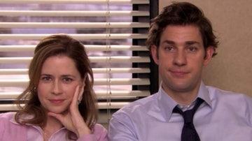 Pam y Jim en 'The Office'